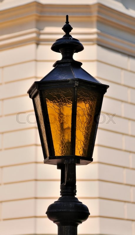 Stock image of 'Old style street lamp'