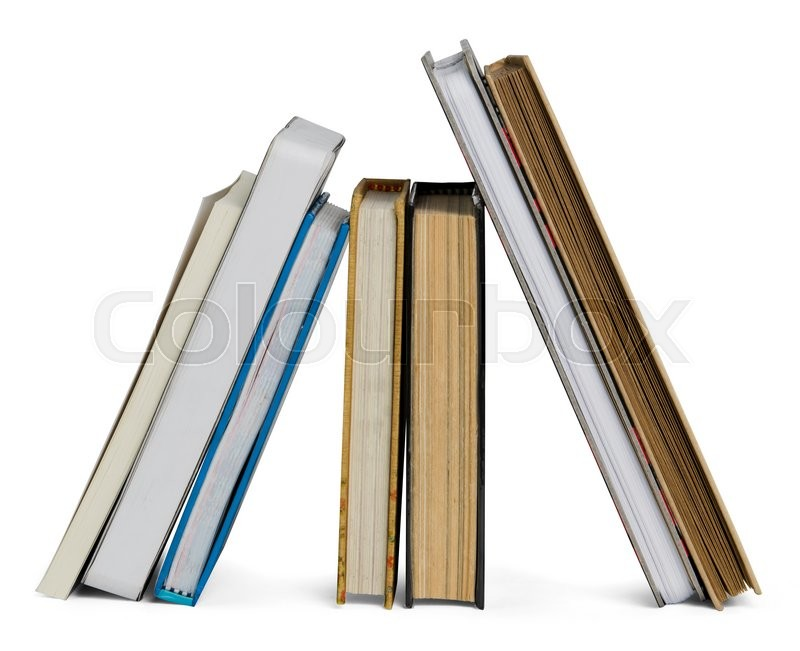 Stock image of 'Books'