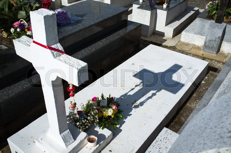 Stock image of 'The memorial day at graveyard, Chanthaburi, Thailand'