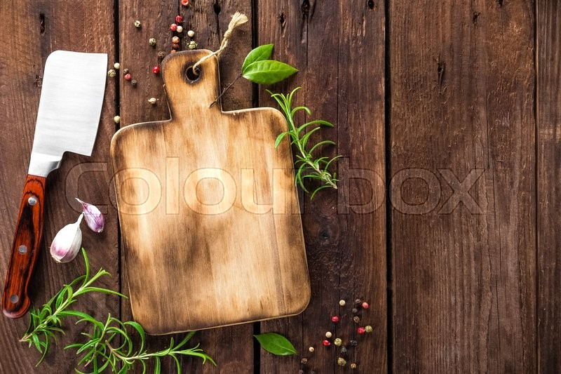 Stock image of 'Culinary background'