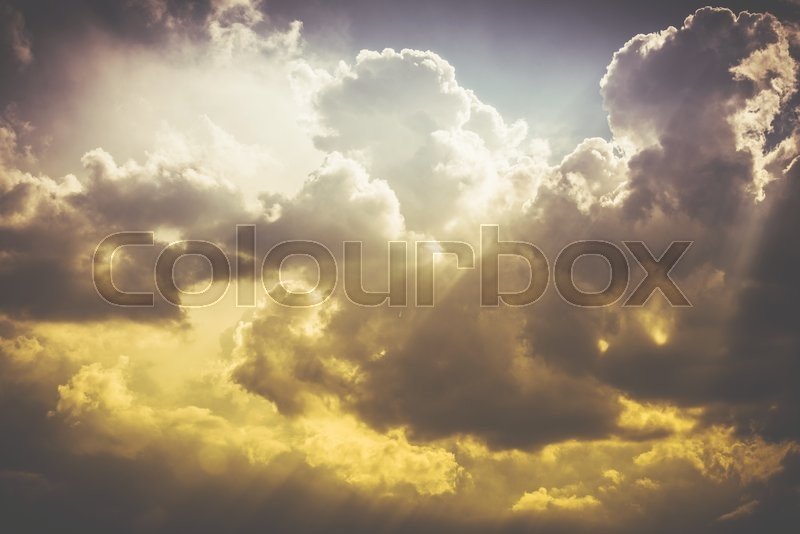 Stock image of 'Stormy Clouds Nature Photo Background. Cloudscape Backdrop.'