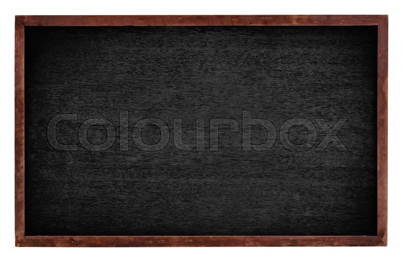 Stock image of 'Black board isolate on white background'
