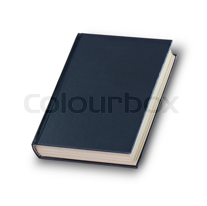 Stock image of 'Book isolate on white background with clipping path'