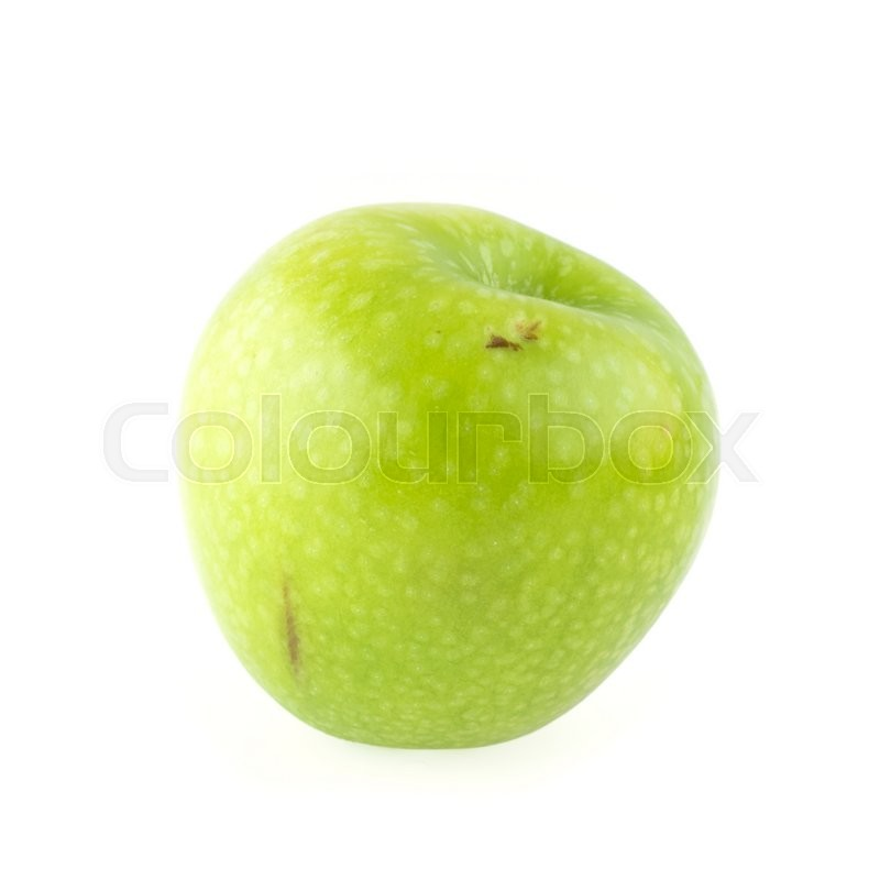 Stock image of 'Fresh apple fruit isolated on white background'