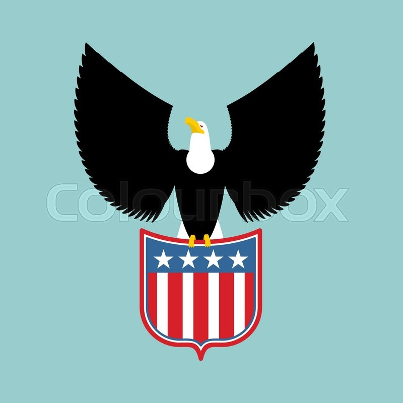 eagle and coat of arms of usa american national symbol