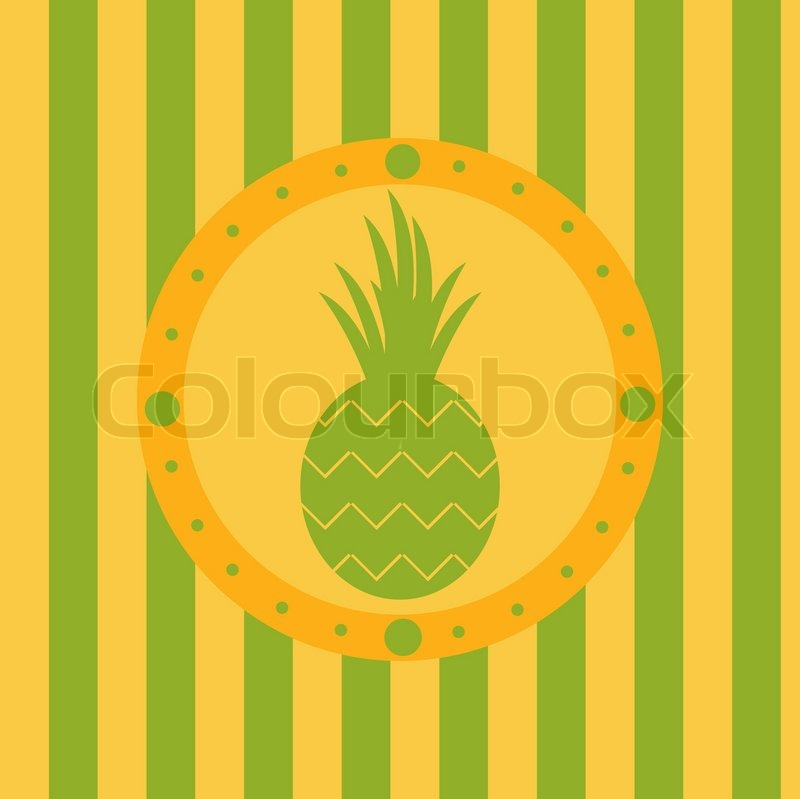Cute Pineapple Background