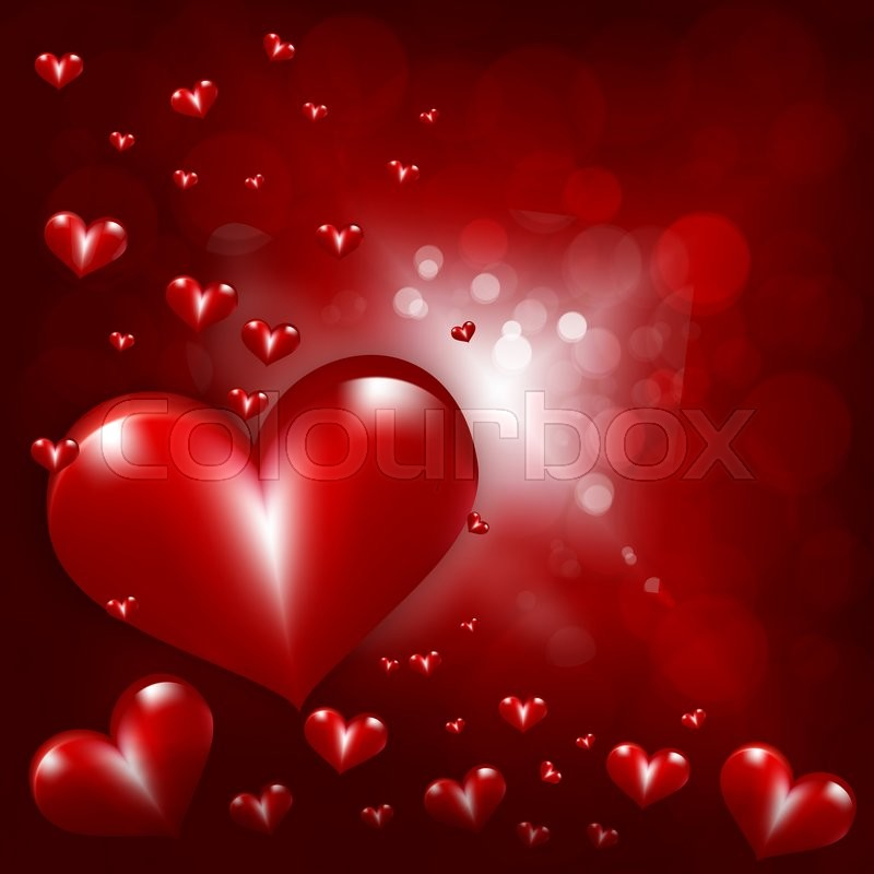 Valentines Day Wallpaper: Day, Background, Hearts, St, Love, ...