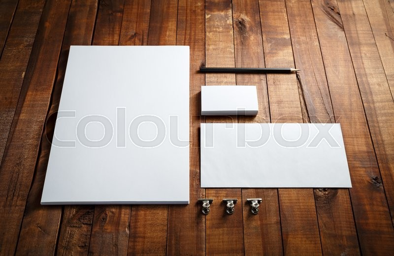 Stock Bild von 'layout, set, mock-up'