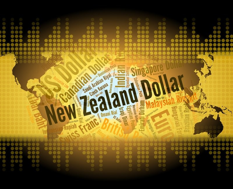 Stock image of 'New Zealand Dollar Indicates Foreign Exchange And Currencies'