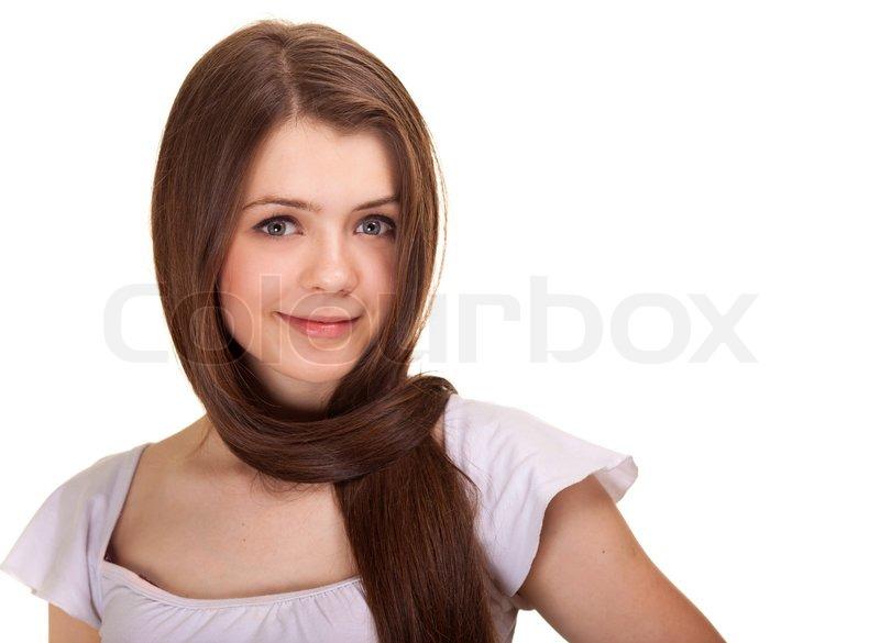 smuk håret teen