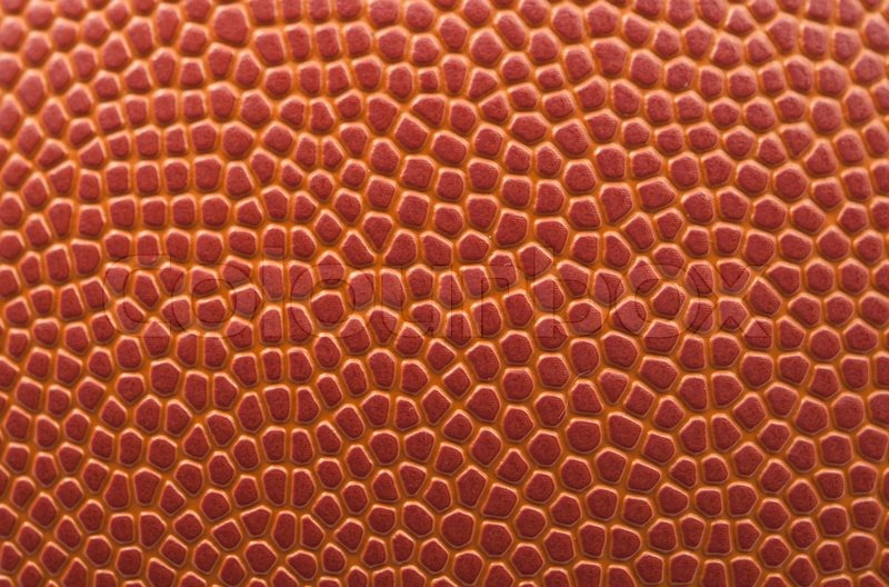 Stock image of 'Basketball background, texture of a basketball'