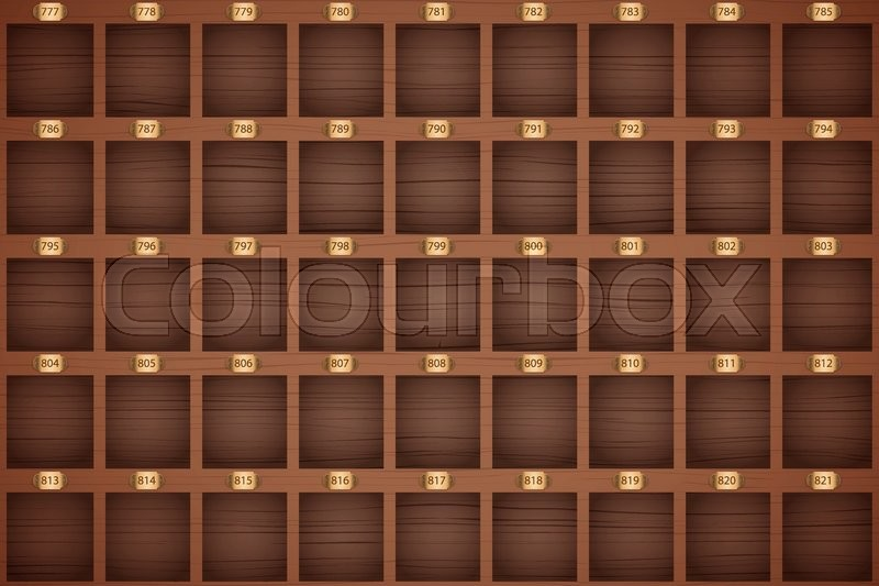 Vector Background Of Vintage Hotel Stock Vector