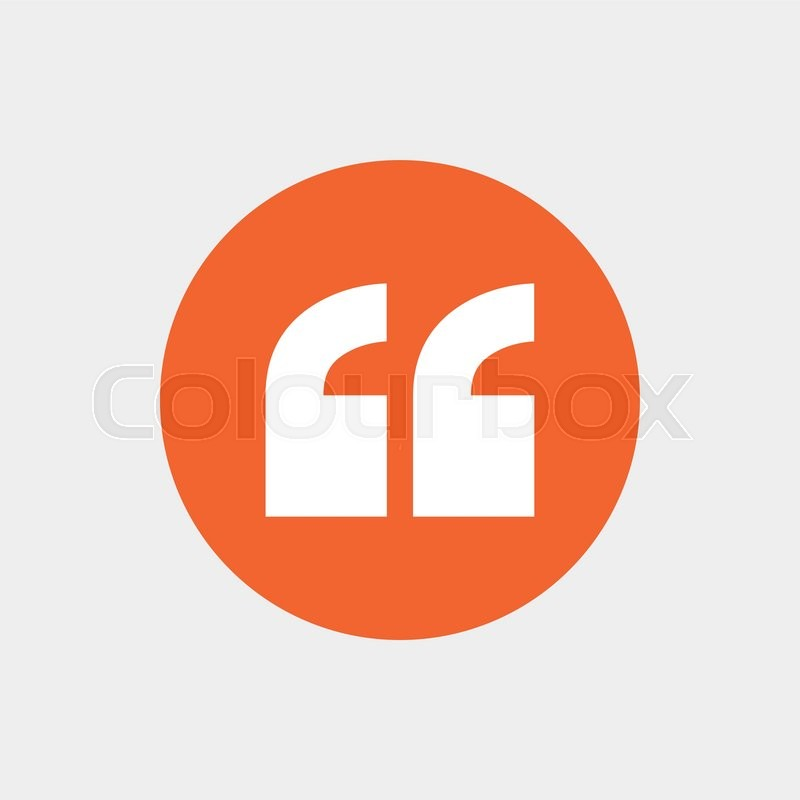 Quote Sign Icon Quotation Mark Symbol Double Quotes At The Extraordinary Quote Symbol