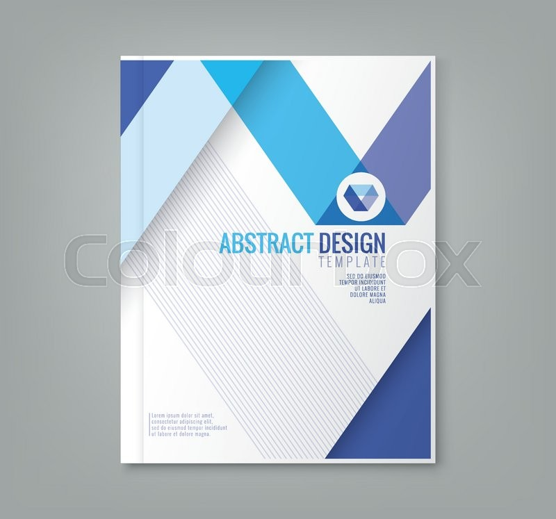 Abstract blue line design background template for business annual abstract blue line design background template for business annual report book cover brochure flyer poster stock vector colourbox flashek Gallery