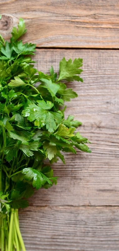 Stock image of 'Fresh parsley'
