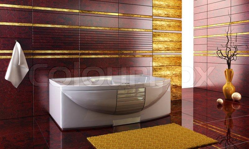 3д дизайн ванной комнаты i