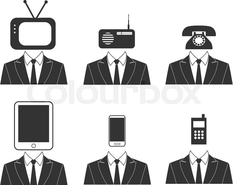 Antenna black broadband business channel collar communication dial head icon - Tv und mediamobel ...