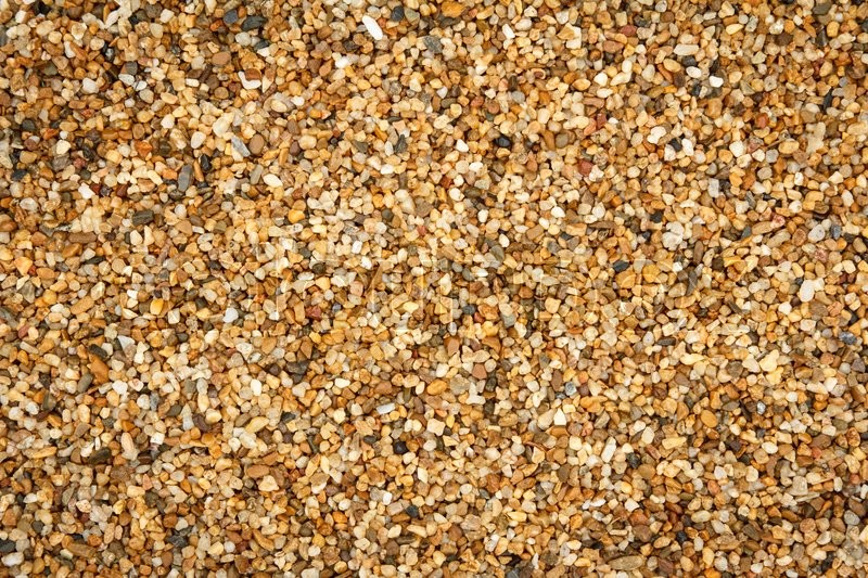 Stock image of 'Gravel floor close up background'
