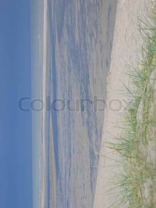 Stock image of 'kattegat, denmark, coastline'