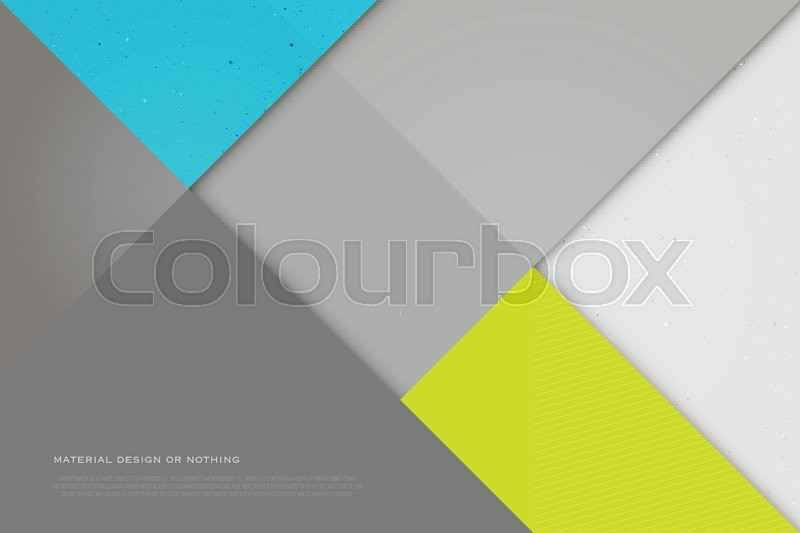 Abstract Colorful Background With Triangle Shape Frames Vector Geometric Fashion Wallpaper Template Material Design Backdrop Origami Style