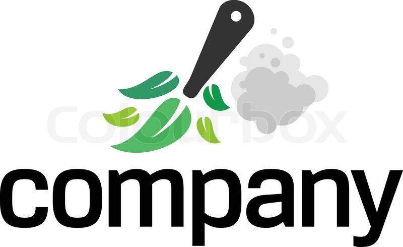 Haus Reinigung logo | Vektorgrafik | Colourbox