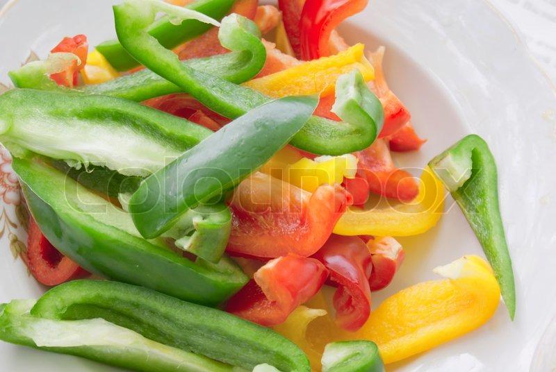 салат из сладкого перца-фото