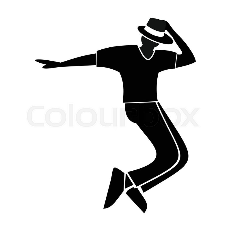 Dance Flat Symbol For Web And Mobile Devices Stock Vector Colourbox