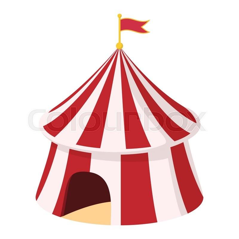 Stock vektor af 'cirkus, telt, fest'