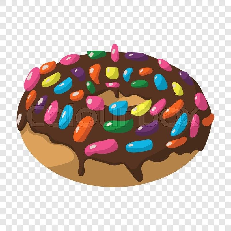 Cartoon Doughnut Factory: Cartoon Doughnut Color Sign On ...