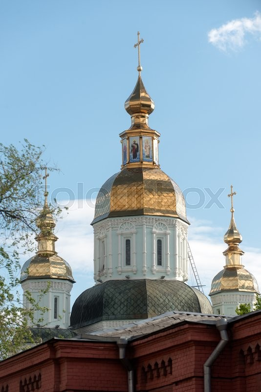 Stock foto af 'ukraine, traditionel, tempel'