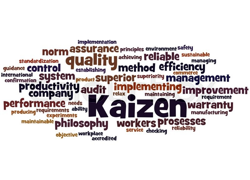 Kaizen - continuous improvement     | Stock image | Colourbox