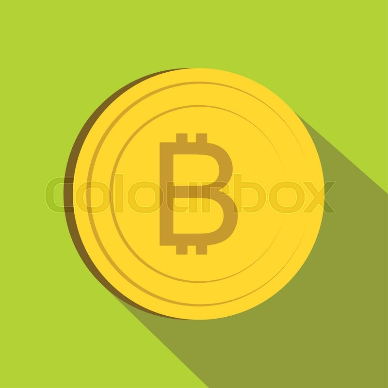 Thai Currency Symbol Baht Icon In Flat Style On Green Background