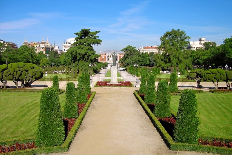 Buen-Retiro Park in Madrid, Spain  Stock Photo  Colourbox