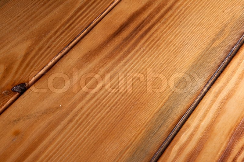 Wooden Table Surface ~ Simple brown wooden surface of a picnic table stock