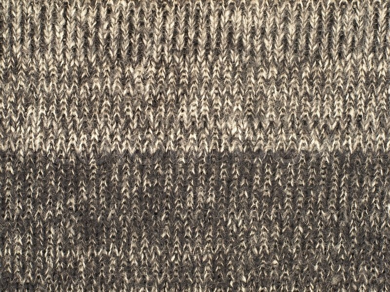The Sheep Wool Fabric Texture Pattern Background Stock