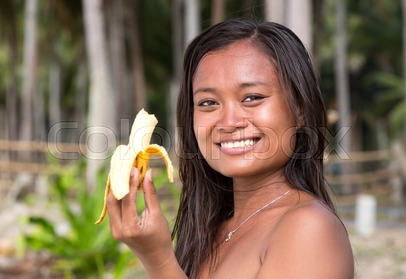 Asian Girl Eats Banana - Hq Photo Porno-5895