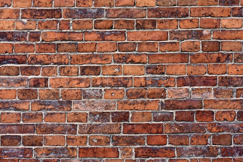 Old Brick Wall Texture Stock Image Colourbox