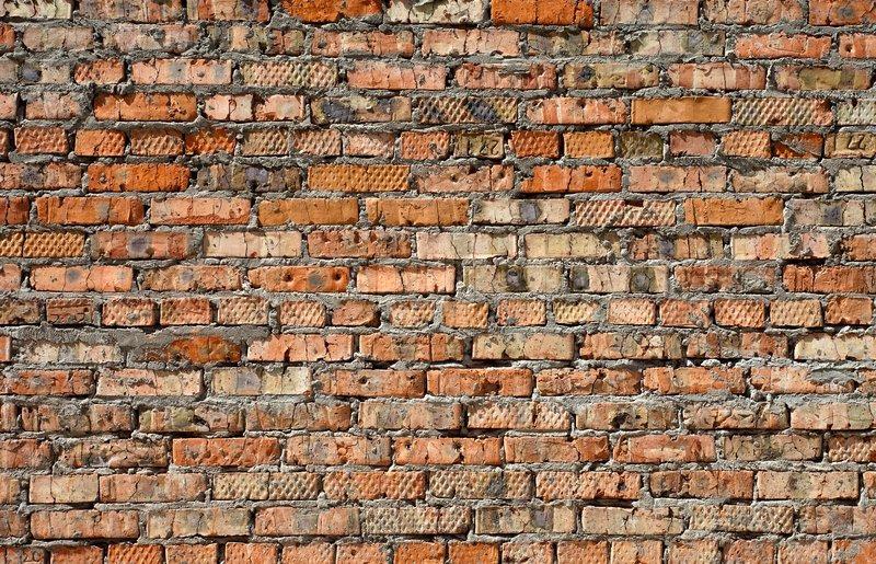 Old Brick Part - 20: Old Brick Wall Texture, Stock Photo