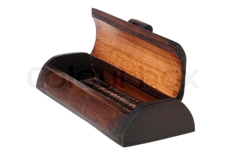Wooden gamle kiste til opbevaring af ... | Stock foto | Colourbox