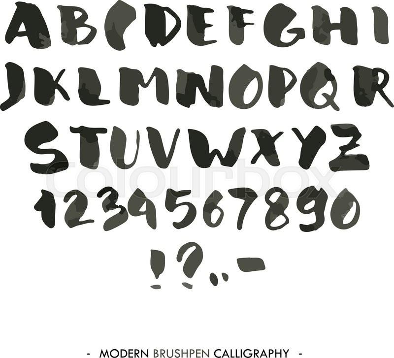 write alphabet a-z