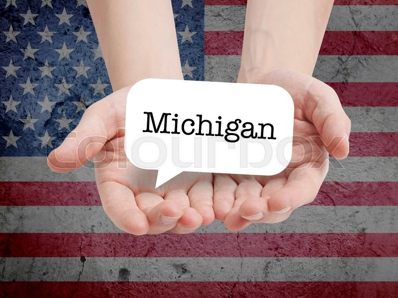 Stock Bild von 'land, michigan, staat'
