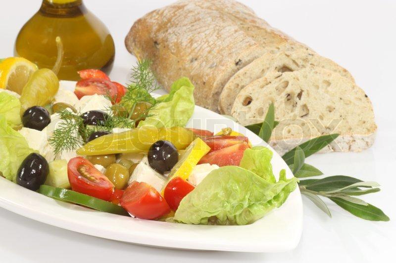 brød til salat