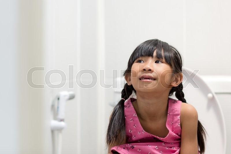 Consider, pee cute asian girl something