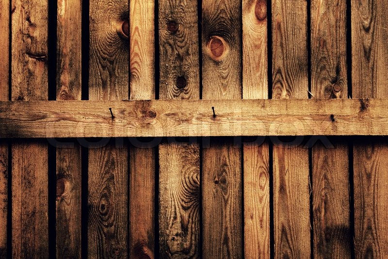 Old brown wood fence stock photo colourbox