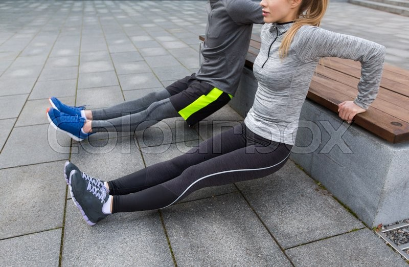 Stock Bild von 'work-out, übend, training'