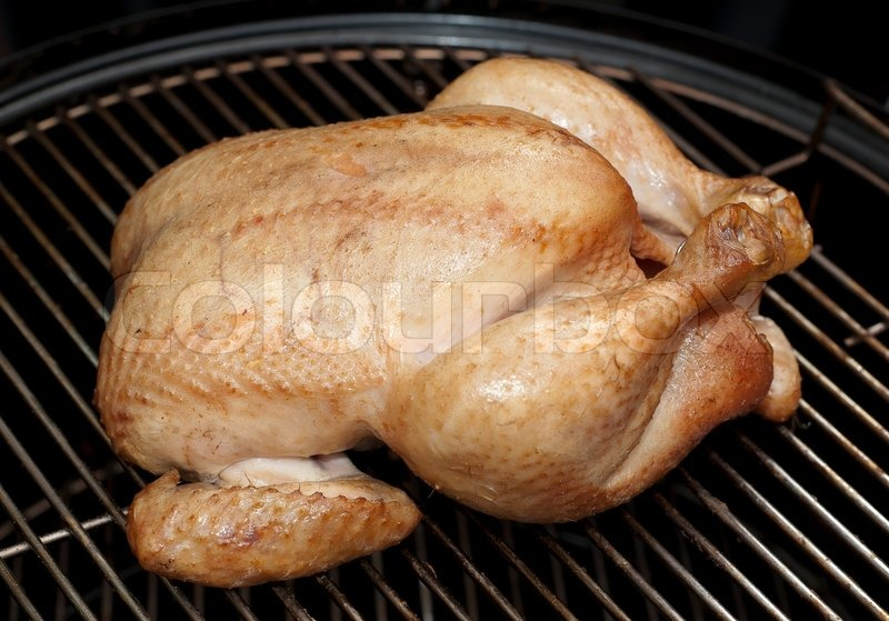 Roast chicken   Stock Photo   Colourbox