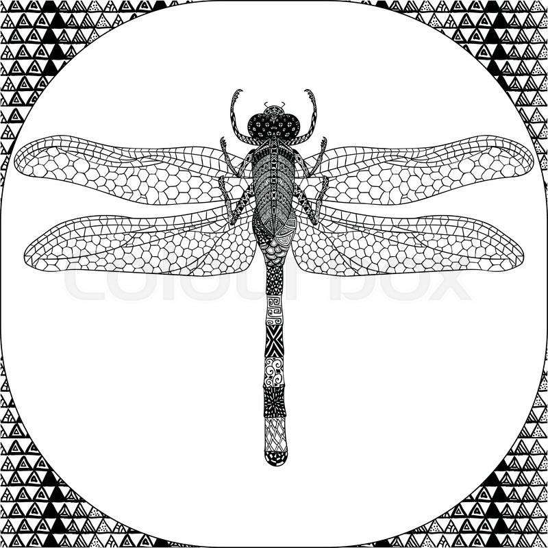 🎨 Awesome Animal Dragonfly - Kizi Free 2020 Printable Coloring ... | 800x800