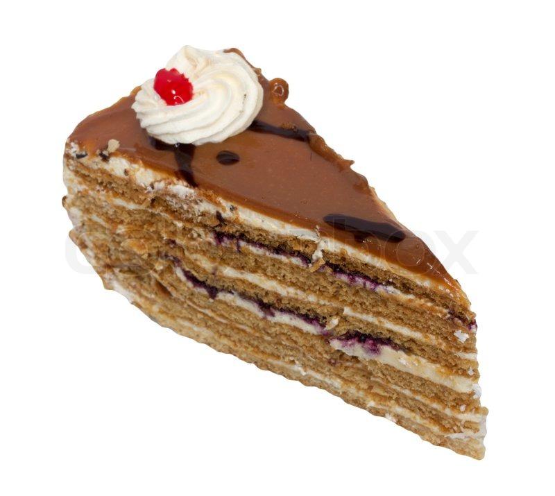 Slice Of Cake Slice of cream cake with