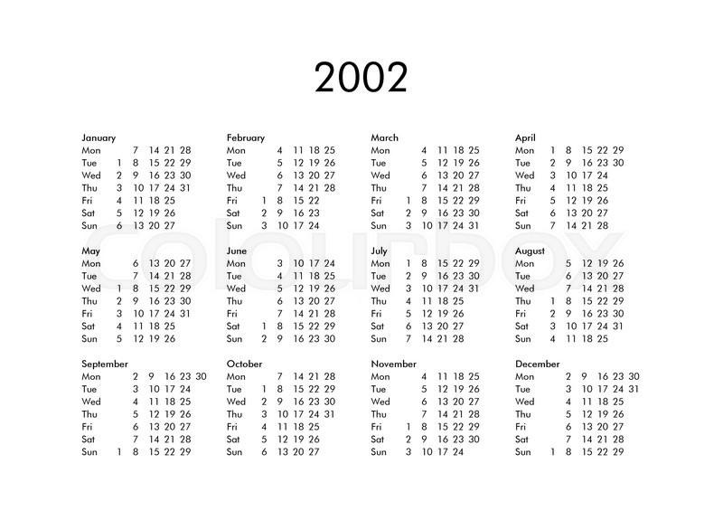 88 2002 Yearly Calendar A Pop Up Calendar On An Access Form