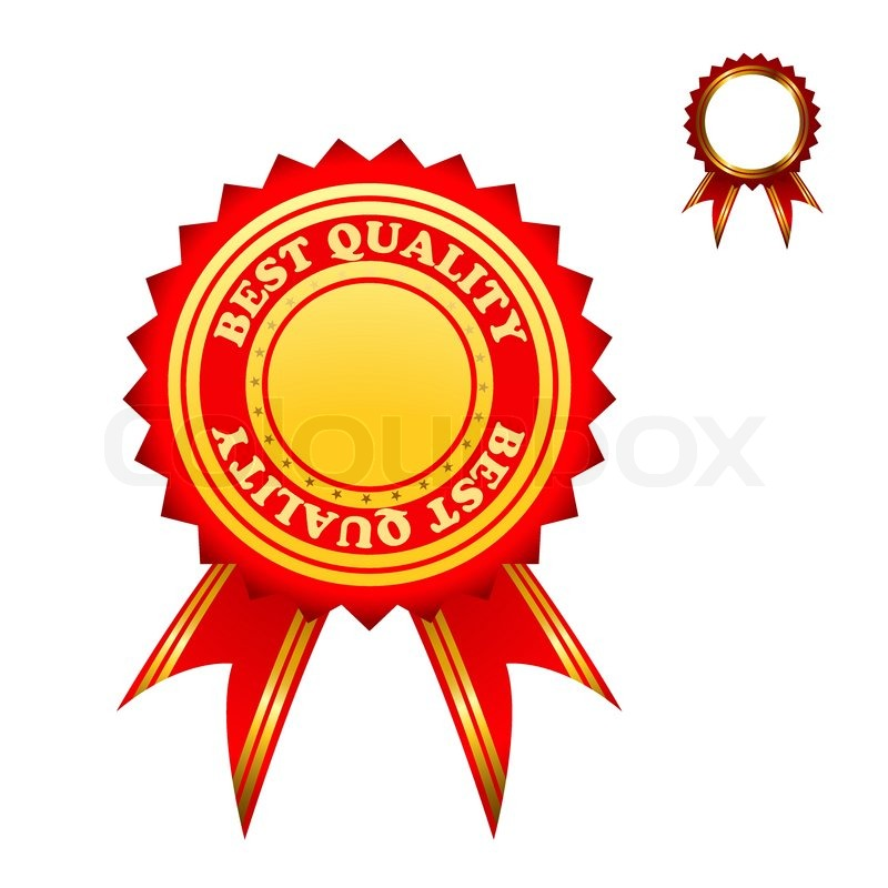 Illustration Of A Set Of Marks The Best Quality. Vector